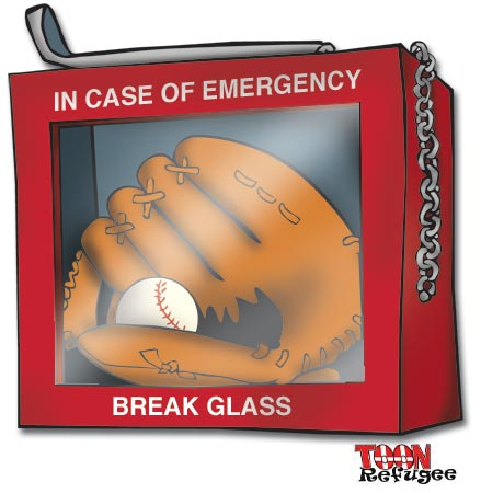 baseball emergency