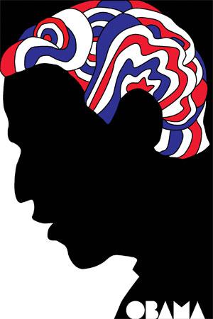 Barack Obama campaign poster