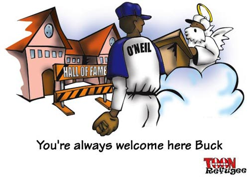 Buck O'Neil in Heaven