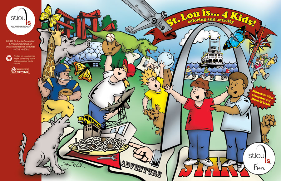 St. Louis Kids Activity Book
