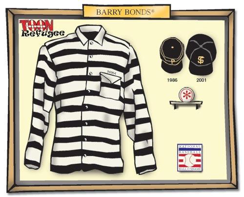 BArry Bonds Hall of Fame