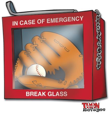 baseball emergency