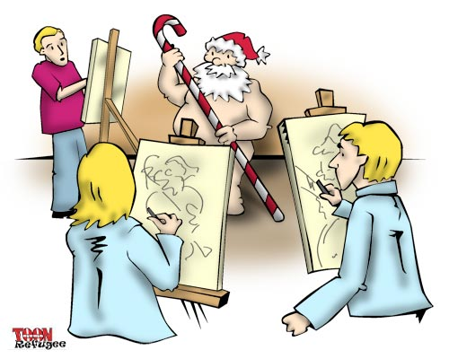 The Third Cartoon of Christmas 2008