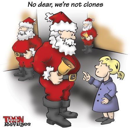 Santa Clones