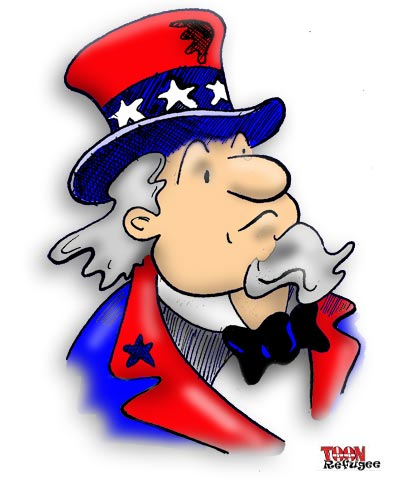 Uncle Sam Cartoon